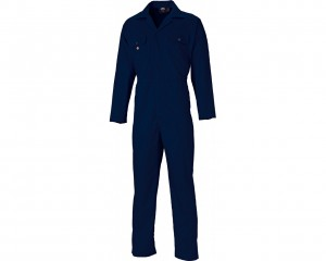 Stud Front Coverall W/ Fold down collar & Two chest pockets with stud flap