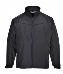 TK40 Oregon Softshell Jacket w/ adjustable cuffs and zipped mobile pocket