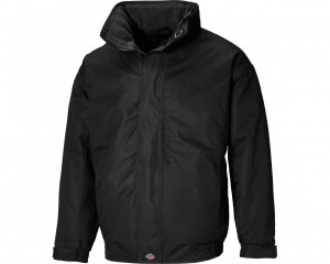 Dickies Cambridge Jacket w/ Concealed hood & Zipped front with storm flap