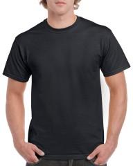 Gildan 5000 Heavy Cotton T-Shirt w/ Taped Neck & Shoulders