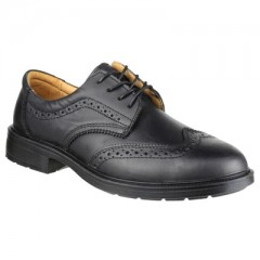 Amblers BROGUE SUPER SAFETY SHOE w/ Steel toe cap & midsole