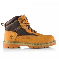 Scruffs Twister Safety Boot Tan w/ Steel Toe & Midsole