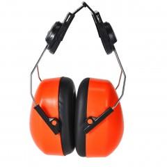 Orange Clip On  Ear Defenders w/ Universal Clip
