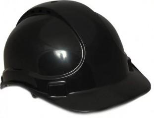 HPE Deluxe Vented Safety Helmet (TE) Black