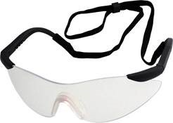 Arafura Safety Spectacles w/ Stylish Wrap Round Design & Adjustable Arms