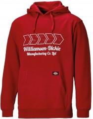 Dickies Arkley Hoodie Red w/ Adjustable hood