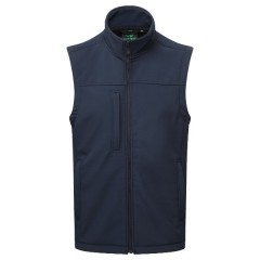 Breckland BodyWarmer NAvy - Windproof, Breathable, Fleece lined