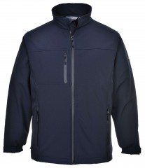 Soft shell windproof fleece Jacket w/ Waterproof Front Zip & Chest Pocket