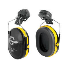 InterGP Mnt Ear Defenders w/ Adjustable Steel Arms
