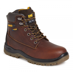 Dewalt Titanium Safety Boot Tan w/ Steel Toe Cap & Midsole