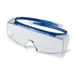 Uvex Super OTG Over-Spectacles w/ navy blue frame