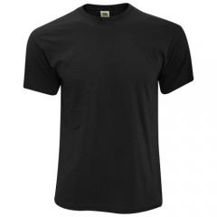 Fruit Of The Loom Full Cut T-Shirt w/ Rib crew neck & Fine knit gauge