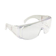 Boston visitor safety spectacles w/vented side shields