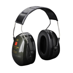 Peltor Optime II ear defenders w/ slimline cup design
