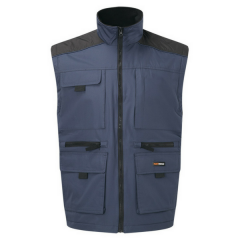 Lincoln Body warmer w/ Fleece lining & Multi-pockets
