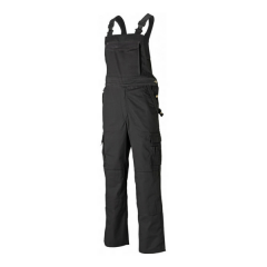 Dickies Industry 300 Bib & Brace w/ chest, leg & Kneepad pockets