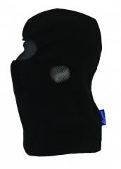 Black Fleece Balaclava w/ Breathable fleece fabric & Elasticated front opening