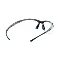 Bolle Contour Safety Glasses w/ exceptional 180° field of view