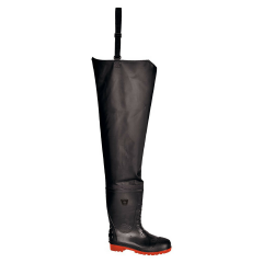 Thigh Safety Wader w/ Steel toecap & midsole