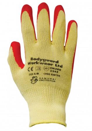 Premier Grip Orange Glove w/ Double palm coating