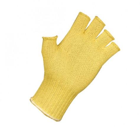 Fingerless Kevlar PVC Dot Glove