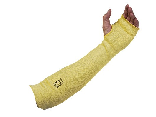 Kevlar Knit Sleeve w/ high strength and cut resistance