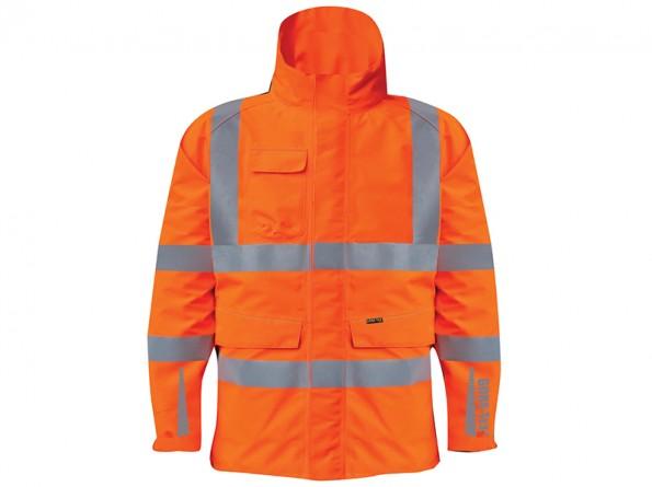 GORE-TEX Rail Coat w/ Contoured neckline collar & Internal storm cuffs