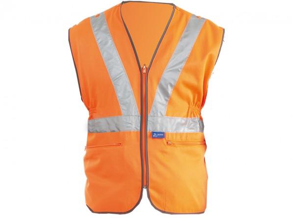 GN200RT - Premium Rail Vest w/ Quick release press studs & Zipped front  -1