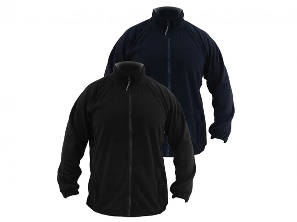 Bodyguard midweight fleece w/ full zip, Drawcord and toggles at hem