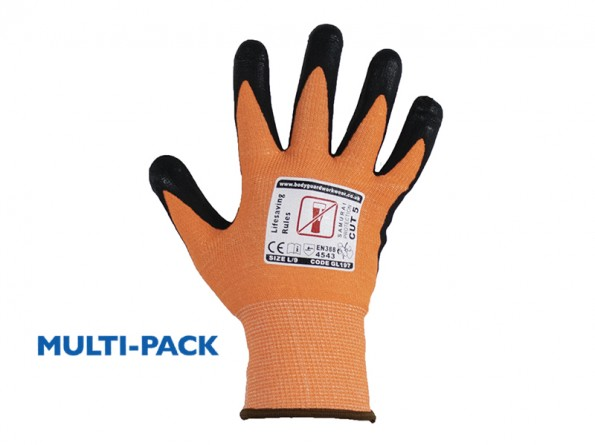 Samurai Lite Cut 5 Safety Glove w/ Touch Screen Technology - 12 Pairs / Pack