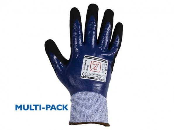 Samurai Thermo Wet Cut 5 Safety glove w/ Fleece Liner - 12 Pairs / Pack