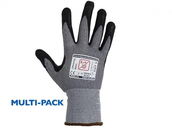 Samurai Super lite Cut 5 Safety Gloves w/ Touch Screen Technology - 12 Pairs / Pack