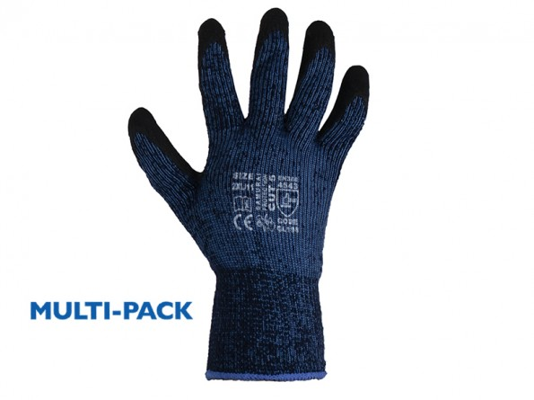 Samurai Thermo Cut 5 Safety Gloves w/ Excellent Thermal Properties - 12 Pairs / Pack