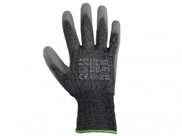 Samurai Cut5 Safety Gloves w/ high dexterity for dry applications