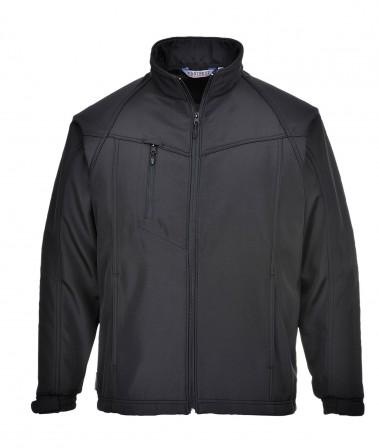 TK40 Oregon Softshell Jacket w/ adjustable cuffs and zipped mobile pocket