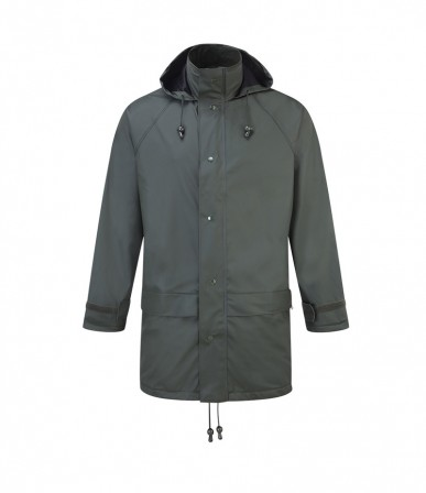 For-texx Storm Flex Jacket w/ zip front & concealed hood