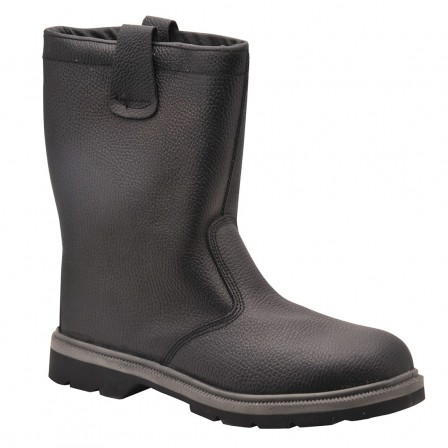 STEELITE RIGGER Lined BOOT w/ Steel toe cap and protective steel mid-sole
