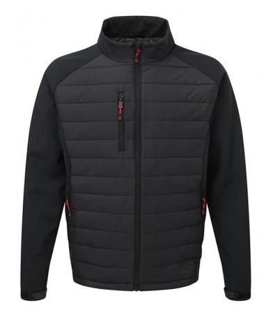 TuffStuff Snape Nylon and Softshell Jacket Black