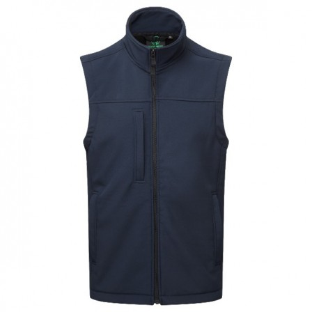 Breckland BodyWarmer NAvy - Windproof, Breathable, Fleece lined