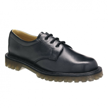 Air-cushioned Sole Safety Shoe w/ leather lining & insole