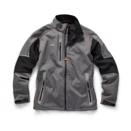 Scruffs Pro Soft Shell Jacket w/ waterproof bonded fleece