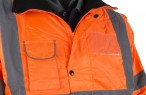 Storm Waterproof Bomber Jacket w/ Elasticated cuffs & Concealed hood