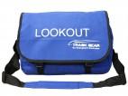 Lookout Messenger Bag w/ Robust Tough Fabric & Padded Shoulder Strap