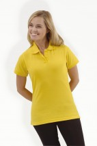 Ladies Fitted Pique Polo Shirt