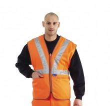 Premium Hi Vis Rail Vest