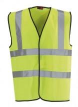 Hi Vis Yellow Vest Class 2