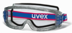 Uvex Ultravision Foam Seal Goggle w/ Optically correct lens