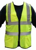 Hi Vis Yellow Executive Vest Class 2