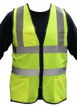 Hi Vis Yellow Executive Vest Class 2