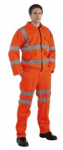 Hi Vis Flame Retardant Work Jacket